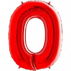 NUMERO 0 ROSSO CM 100...