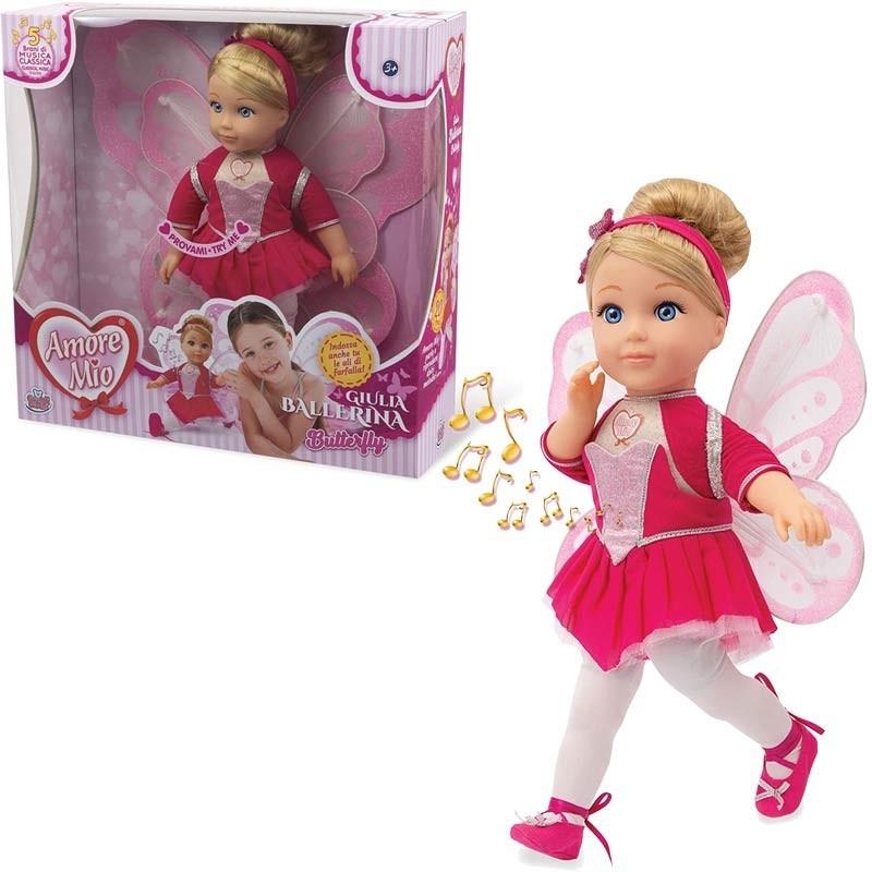 GG71301 Amore Mio Ballerina Butterfly Bambola Grandi Giochi