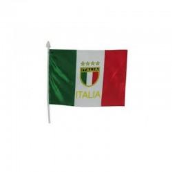 BANDIERA ITALIA CON ASTA CM...