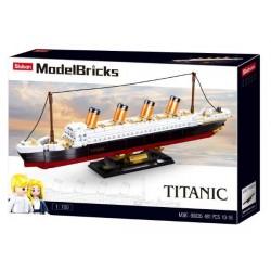 NICE MODELBRICKS-TITANIC...
