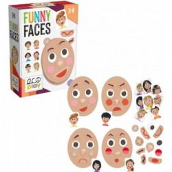 HEADU ECOPLAY FUNNY FACES...